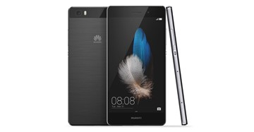 Huawei P8 Light zwart  + TKH