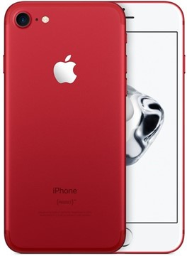 Afbeeldingen van Apple iPhone 7  128GB red+ TKH