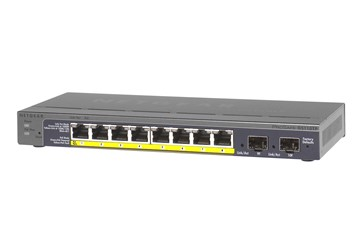 Netgear 8 Port Gigabit PoE Smart Switch