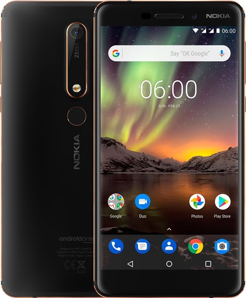 Nokia 6.1 Black 32GB