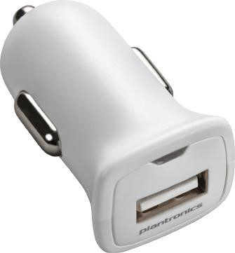 Afbeeldingen van Plantronics USB Car Charger White