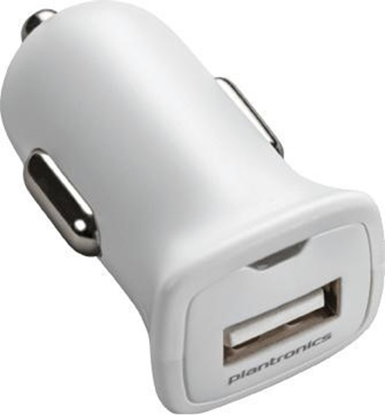 Afbeelding van Plantronics USB Car Charger White