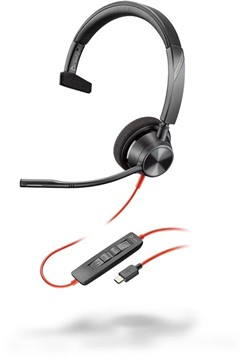 Poly Blackwire 3310-Microsoft USB-C headset