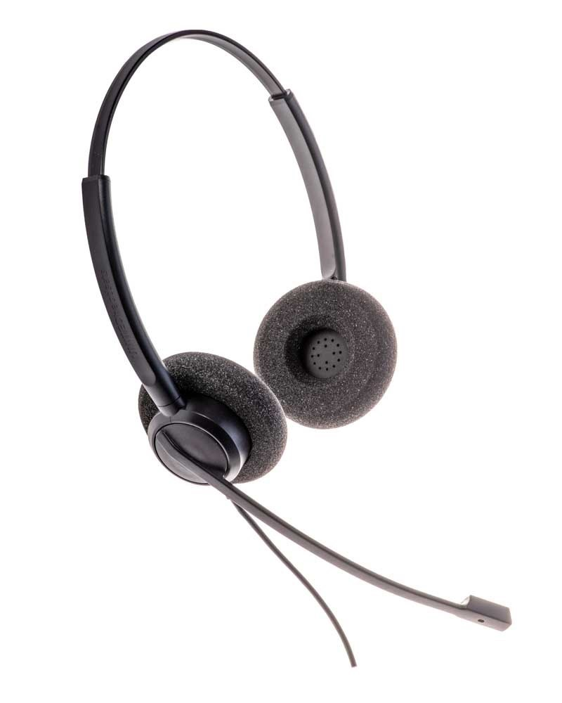 United Headsets Max 20 stereo headset Jabra connector