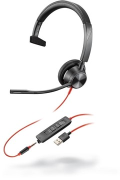 Poly Blackwire 3315-M